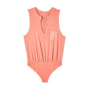 Free People In Your Pocket Bodysuit Medium